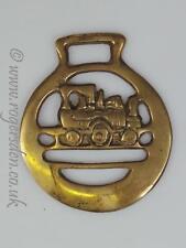 Vintage Horse Brass Train