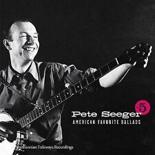 American Favorite Ballads, Vol. 5 [2007] by Pete Seeger (Folk Singer) (CD) **NEW