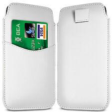 Premium ranura para tarjeta Pu Cuero tire Flip Tab Funda Bolsa Para Teléfonos Nokia