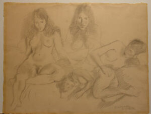 Raphael Soyer Figure Drawing