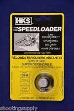 HKS 36/36-A Speed Loader 38/357 Mag Fits S&W Taurus Ruger New in Package 36-A