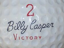 1968 BILLY CASPER VICTORY #2 SIGNATURE LOGO GOLF BALL