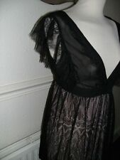 Fab Clothes show Dress exclusive Size Medium Black Lace over Mini dress BNWOT