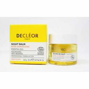 DECLEOR AROMESSENCE ROSE D'ORIENT NIGHT BALM 15ML - NEW & BOXED - FREE P&P - UK
