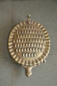 Old Brass Tortoise Shape Handcrafted Kitchenware/Grater