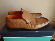 Clarks - Oliver Sweeney Size 8.5 (size 9 too?) Loafer Shoes -  Tan Leather