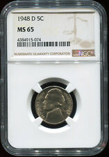 1948 D 5C MS 65 NGC USA coin