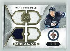 15-16 UD The Cup Foundations  Mark Scheifele  /75  Quad Jerseys