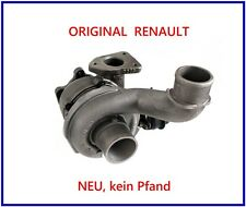 NEU kein Pfand! 8201235691 Original RENAULT Turbolader 2.2 dci 140 150 PS