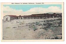 MISSION LA SOLEDAD Ruins Our Lady of Solitude CALIFORNIA CA Postcard