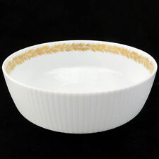 "GOLDEN LEAVES by Rosenthal Porcelain Open Vegetable 8.25"" NEW NEVER USED Germany"