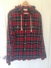 Country Road Mens Checked shirt with hood - size XL