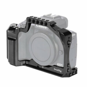SmallRig Cage for Canon EOS M50 & M5 with NATO Rail Built-in Arca Swiss QR Plate