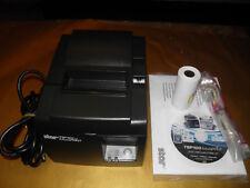 NEW Star Micronics TSP100 TSP143LAN Thermal POS Receipt Printer Ethernet w power