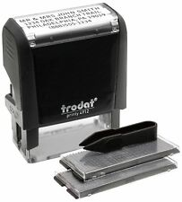Trodat Economy Self-Inking Do It Yourself Message Stamp, Stamp Impression Size: