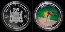 Zambia 1000 kwacha 2010- Deadly bugs- mosquito