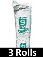 3 Rolls - 45m² - Cloud 9 Cumulus 11mm Thick Carpet Underlay - Luxury