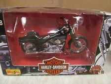 Maisto Harley Davidson FXSTSB Bad Boy   NIB  1:18 Scale
