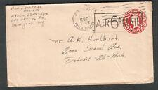 Oct 1945 c WWII cover Lt W J McBride 330th Engrs APO 689 Ledo Assam India