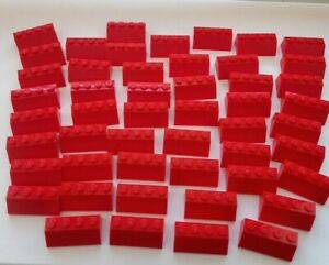 LEGO50 RED ROOF SLOPES TILES
