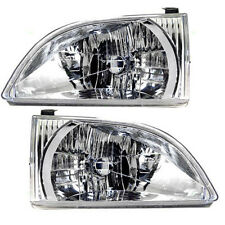2001 2002 2003 TOYOTA SIENNA HEADLIGHT LAMP PAIR LEFT AND RIGHT SET