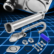 For 03-07 Ford F250/F350/F450/F550 Sd 6.0 Diesel Egr Bypass/Delete J-Pipe+Uppipe