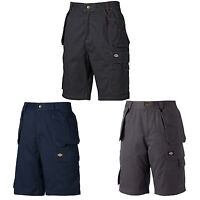 Dickies Redhawk Pro Shorts Mens Heavy Duty Lightweight Durable Work Pants WD802