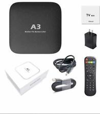 A3 Chinese Newest Live Streaming TV Box A3 Support 4K 电视机顶盒