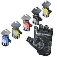 Merida Men's Practical Professional Cycling Bike Bicycle Half Finger Gloves M-XL