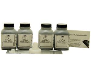 4 InkOwl Toner Refill Kit for SAMSUNG MLT-D115L MLT-D115S M2620 M2820DW