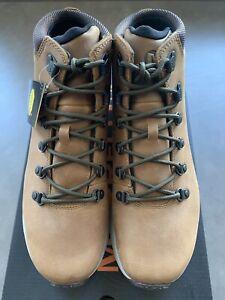 Original Merrell Ontario Mid Waterproof Men's Hiking Boots - Brown J65393