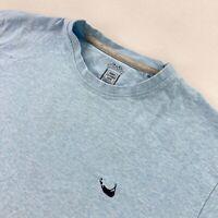 Nobby Clothes Shop Nantucket Men's Cotton Short Sleeve T-Shirt Blue • Large