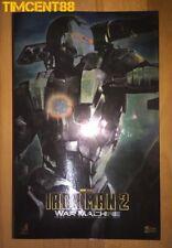 Ready! Hot Toys MMS120 Iron Man 2 War Machine Don Cheadle 1/6 Figure New