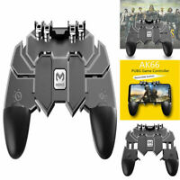 AK66 Six Finger All-in-One Mobile Phone Game Controller Fire Key Button for PUBG
