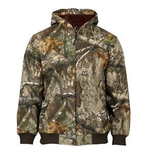 Rocky Prohunter Hooded Duck / Chore Coat, Realtree Edge Camo, HW00244
