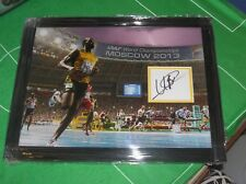 Usain Bolt Jamaica Sprinter & Olympic Legend Signed & Framed Presentation