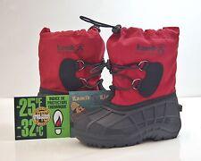 KAMIK Gr. 3 / 35 Southfrost Kinder Winterstiefel Boots -32°C waterproof rot