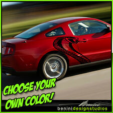2005 2010 2015 Mustang GT Cobra Jet Vinyl Snake Graphics Decal 2006 2007 2009