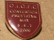 Queen Convention 2006 Official Fanclub Badge