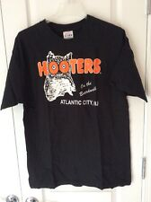 HOOTERS ON THE BOARDWALK ATLANTIC CITY N.J. T-SHIRT, Size Large Brand New