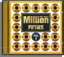 They Sold a Million - Fifties, Volume 5 - New 20 Hit Song Various Artists CD!