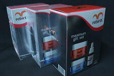 3 x Rebirth Max Set Advanced Placenta Concentrate Cream Serum Emu Whitening