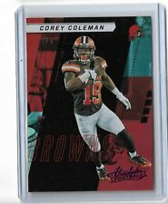 Corey Coleman Cleveland Browns 2017 Panini Absolute football Purple Parallel 2/5