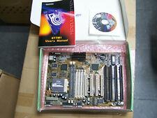 CHAINTECH 5TTM1 5TTM M201 new Motherboard mainboard vintage PC + pentium CPU