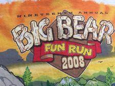 Big Bear Fun Run 2008 No Lolly Hungry Bears Antique Car Club Men's T-shirt XL