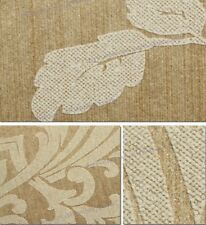CLASSIC DAMASK TEXTURED WALLPAPER   10m Roll