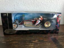 """Hot Wheels 2001 Holiday Slightly Modified 1:18 Scale """"Santa Claus Street Rod"""""""
