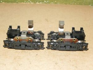 Roundhouse HO Parts RS Geared Diesel Locomotive Trucks w/ Plastic Sideframe