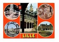 France - Lille - Multiview Postcard Franked 1979
