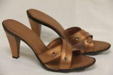 Tod's Mujer Ciabattina Occielli Fondo Ritz Punta Abierta Tacón Zapatos Talla: US